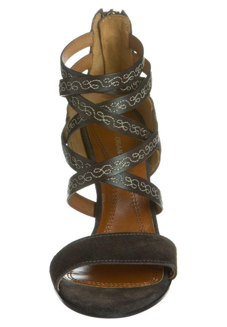 hugo boss women shoes | Best Selling Boss Orange Milah High Heeled Sandals Gray (Women)-£144 ...