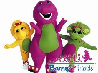 Barney Stickers | Zazzle