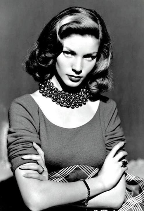 Lauren Bacall , a very handsome woman at any age!