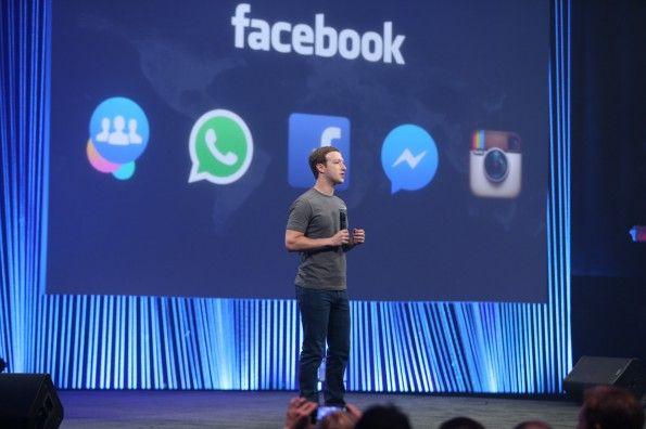 #Facebook #Gründer #Mark #Zuckerberg auf der #Entwicklerkonferenz f8 in #San #Francisco. (Foto:: Facebook)