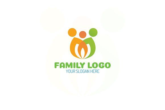 Family logo by MIRARTI on @creativemarket