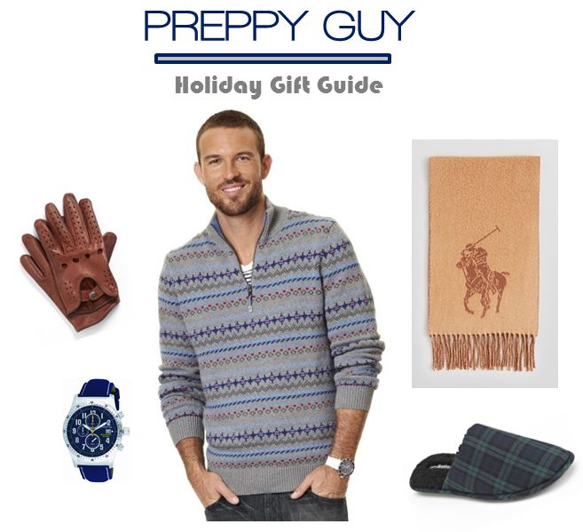 5 Preppy Chic Gifts For Your Favorite Guy #gifts #Christmas