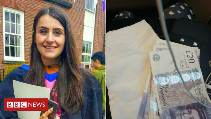 Rail passenger wakes to find 100 gift from stranger who overheard phone call about financial difficulties http://www.bbc.co.uk/news/uk-england-leeds-42862106