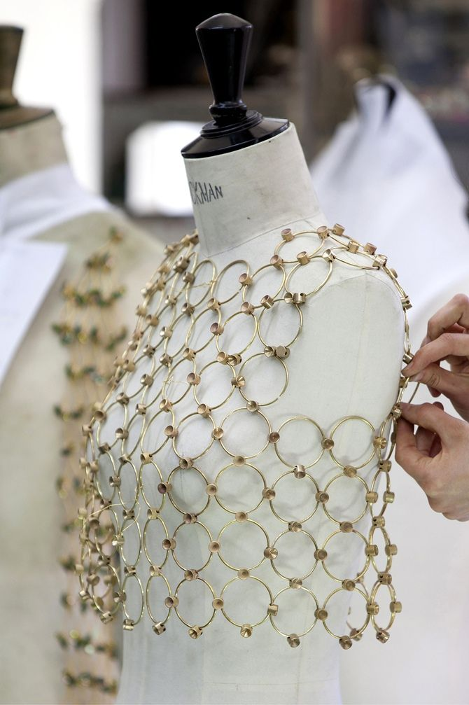 Fashion Atelier - dressmaking; haute couture fashion design behind the scenes // Dior Fall 2015