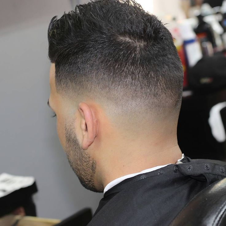 Blurry Low Fade with Messy on Top