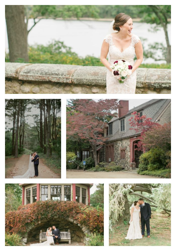If you're the outdoorsy type, you'd love a magnificent #gardenwedding by the #teahouse, or the #farmhouse, or both! Stroll through the forests full of old growth trees and take in the crisp evergreen air at Moraine Farms with your wedding catered by Fireside Catering. #outdoorvenues #gardenwedding #outdoorwedding #earthtones #beverlyma