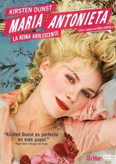 Oscar-winning title in 2006 for Best Costume and a constant delight for the senses starring Kirsten Dunst and has direction and Sofia Coppola's script .