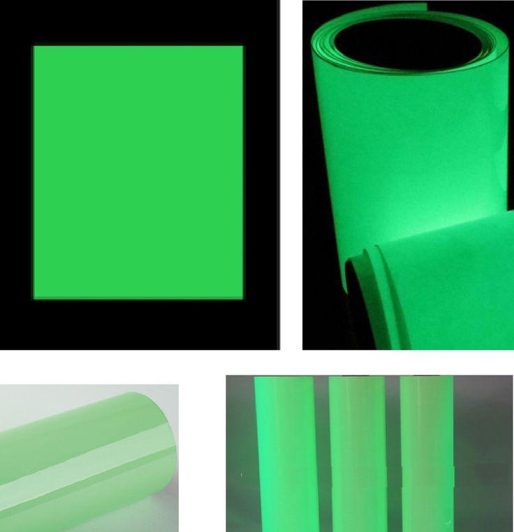 Fresh  uacm Leucht folie Bastelfolie nachleuchtend neon fluoreszierend Bastel bogen in M bel u Wohnen