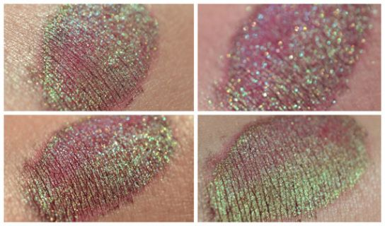 Poison Apple – eyeshadow – duochrome wine green teal