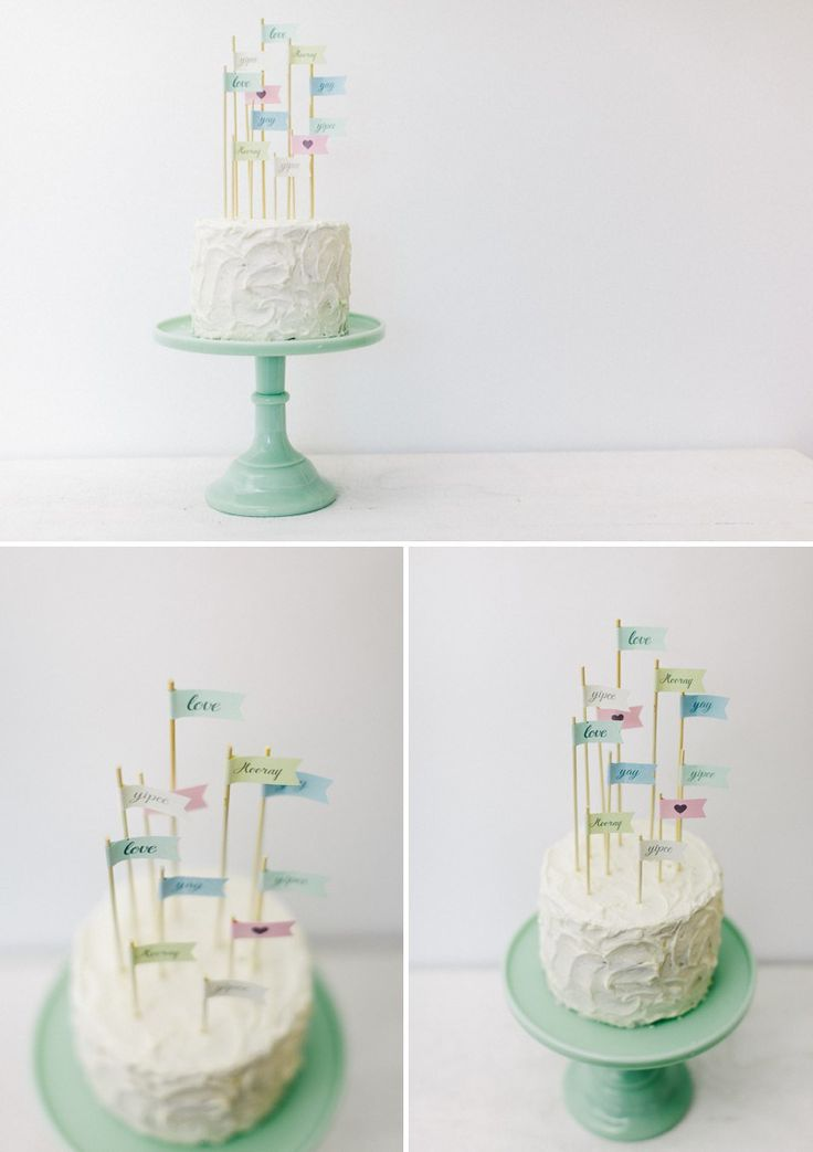 how to create your own flag cake toppers for your wedding desserts wedding flags and cakes. Black Bedroom Furniture Sets. Home Design Ideas