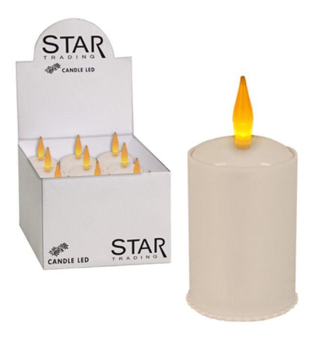 Good Star Trading Dekorative Beleuchtung Wei Outdoor Batterie Akku LED