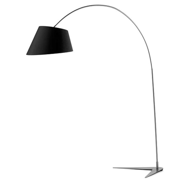 Boom lampen har fået navn efter sin karakterisktiske fod, som er formet som en boomerang.