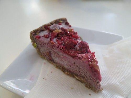 Nourish #Raw #rose and #raspberry #tart