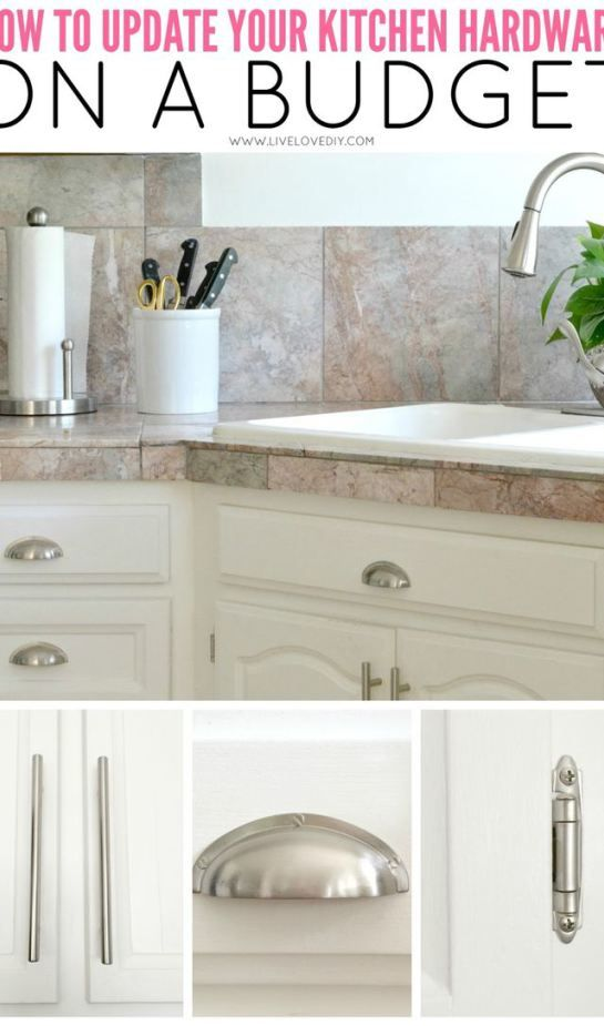 Crystal Knobs Or Silver Colored Knobs For Your Kitchen And Storage Cabinets Will Take Your Space