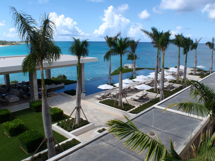 The Viceroy in Anguilla where Lisa and I got married.  One of the most beautiful places ever ... can you say BLUE?