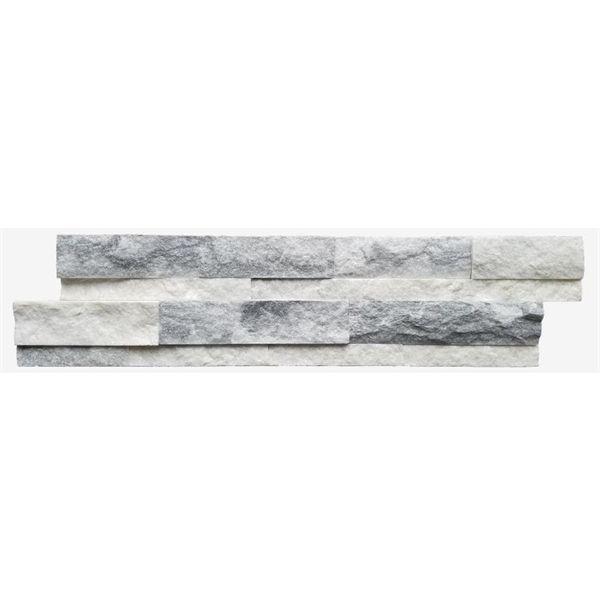 avenzo white quartz wall tile