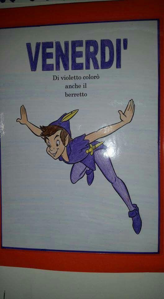 Filastrocca della settimana di Peter Pan