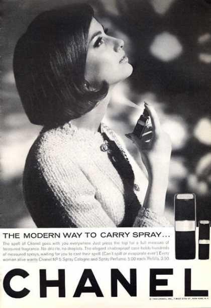 Chanel No 5 Bottle Perfume (1965).