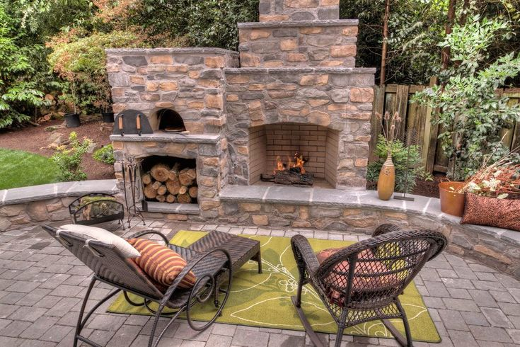 Outdoor fireplace plans patio traditional with seat wall outdoor cushions