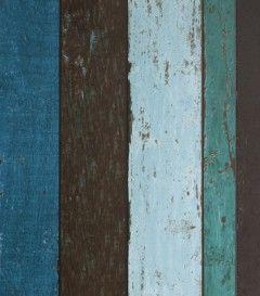 Deski pomalowane na różne kolory - prawdziwy efekt scrapwood  #scrapwood #woodwallpaper