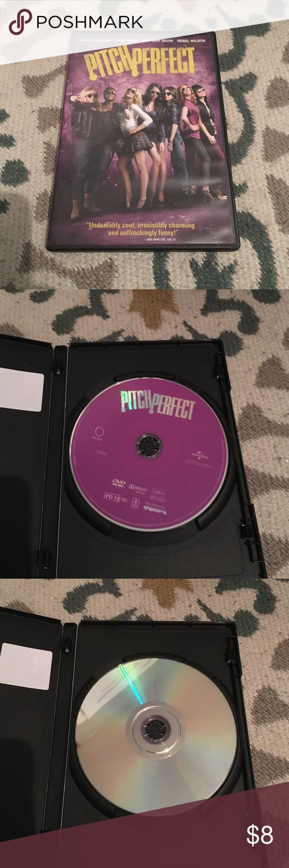 DVD Pitch Perfect. No scratches. Other