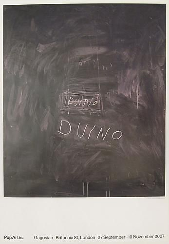 Cy Twombly Untitled Poster, 1970