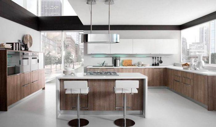 Modern Kitchen With Laminate Cabinet Doors Laminate Kitchen Laminate Kitchen Cabinets Painting Laminate Kitchen Cabinets