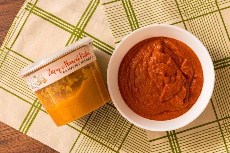 Łatwa, sycąca zupa krem z pomidorów z soczewicą + tajny składnik!