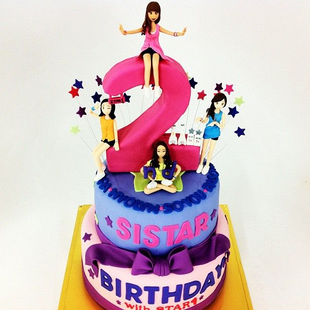 Kpop Birthday Cake