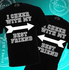 Cheer bff shirt