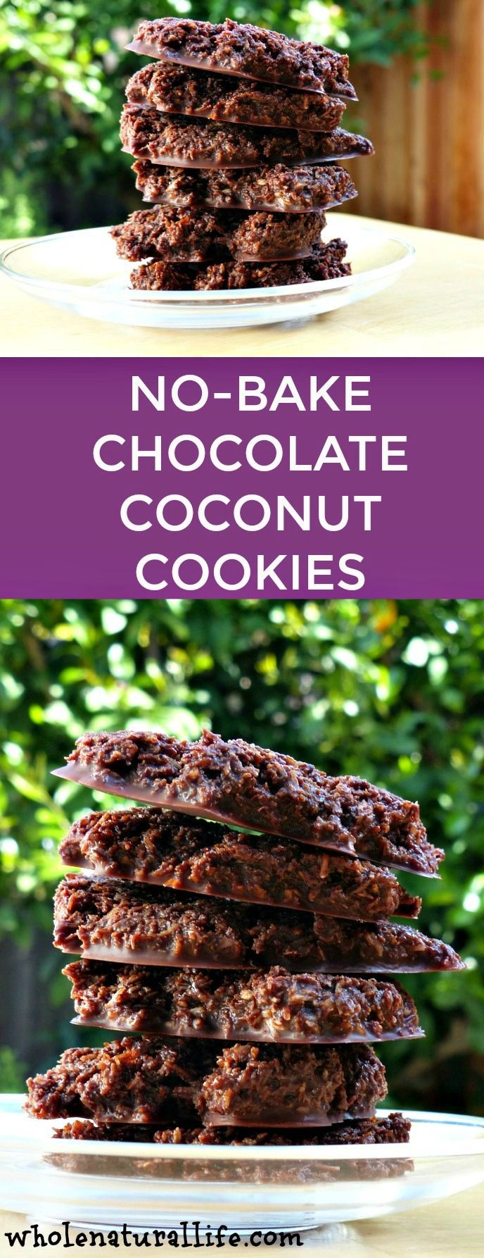 Gluten-free, Paleo, healthy, no-bake, chocolate, coconut cookies | 1/2 cup virgin coconut oil  1/2 cup cocoa powder 1/3 - 1/2 cup raw honey, depending on how sweet you want your cookies to be 2 teaspoons vanilla extract Couple dashes of salt 1 1/3 cups unsweetened shredded coconut
