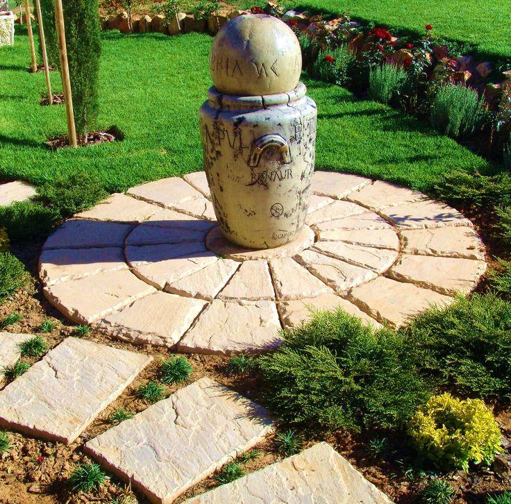 Vintage Garden Circle insitu.