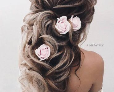 60 New Long Wedding Hairstyles & Updos from Elstile