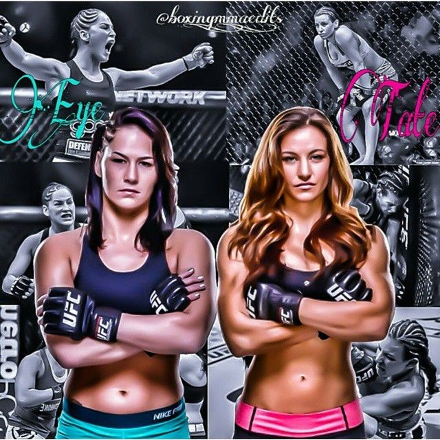 "GREAT FIGHT!!!! Miesha Tate vs Jessica ""Evil"" Eye : if you love #MMA, you'll love the #UFC & #MixedMartialArts inspired fashion at CageCult: http://cagecult.com/mma"