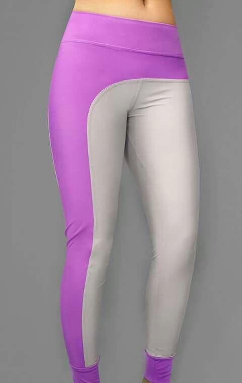 Sport leggins lila Roselion