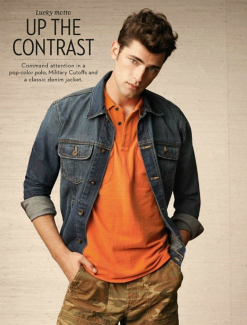 Lucky Brand Spring 2013 Catalog: The Demure Style ~ Men Chic- Men's Fashion and Lifestyle Online Magazine