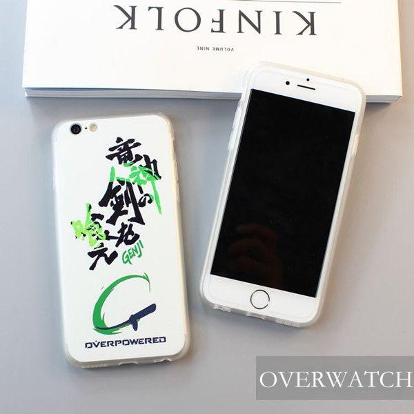 Apple IPhone 5/6/7 Schutzhülle, Handy Zubehör Overwatch Schutzhülle  Overwatch Handy Schutzhülle