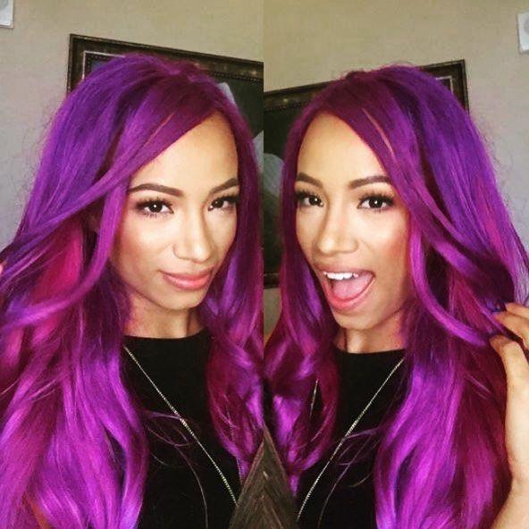 Yaay It S Friday Sashabanks Wwe Raw Pink Legitboss Fanboy Sashabankswwe Sasha Bank Wwe Sasha Banks Wwe Girls