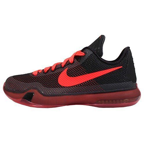 Nike Kobe X(10) GS Black/Red Kobe Bryant Youth Boys Basketball ~ 726067-060 (5). Model Number: 726067060. Gender: boys. Color: BLACK/BRIGHT CRIMSON-ANTHRCT. Made In: China. Brand New With Original Box.