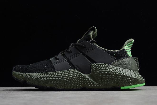 separation shoes 3b4a4 11bec adidas Originals Prophere Black Shock Lime-Green B37467
