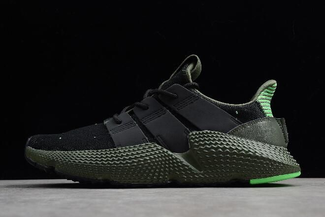 56e13bf20051f8 adidas Originals Prophere Black Shock Lime-Green B37467 in 2019 ...