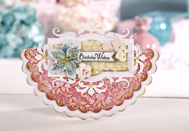An 'Authentique' peek at Simply Cards and Papercraft 126 available 17th July. #authentique #birthdaycard #papercraft