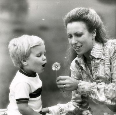 the-british-royal-family:    Princess Anne with her son Peter.