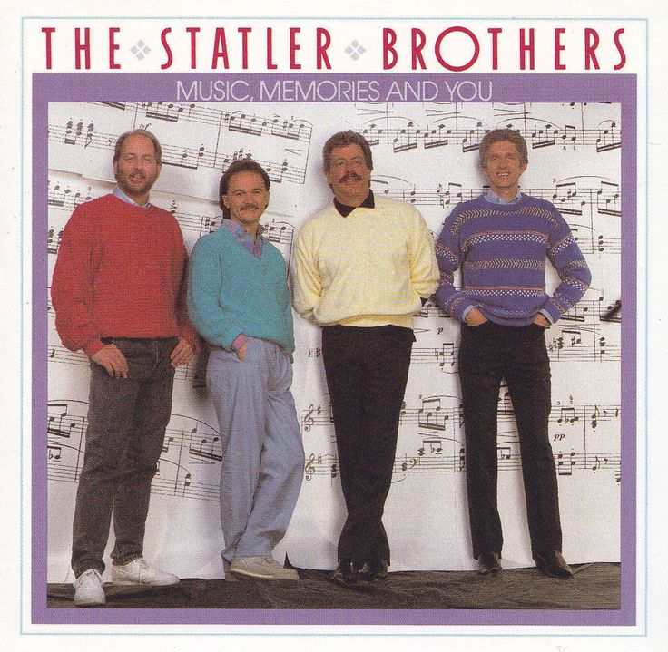 The Statler Brothers CD Music Memories and You 1990 #TraditionalCountry