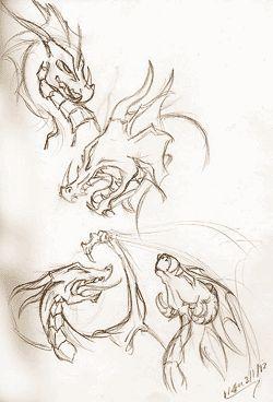 Рисуем драконов | Драконы, сайт о драконах, истории о драконах, видео с драконами, фильмы о драконах