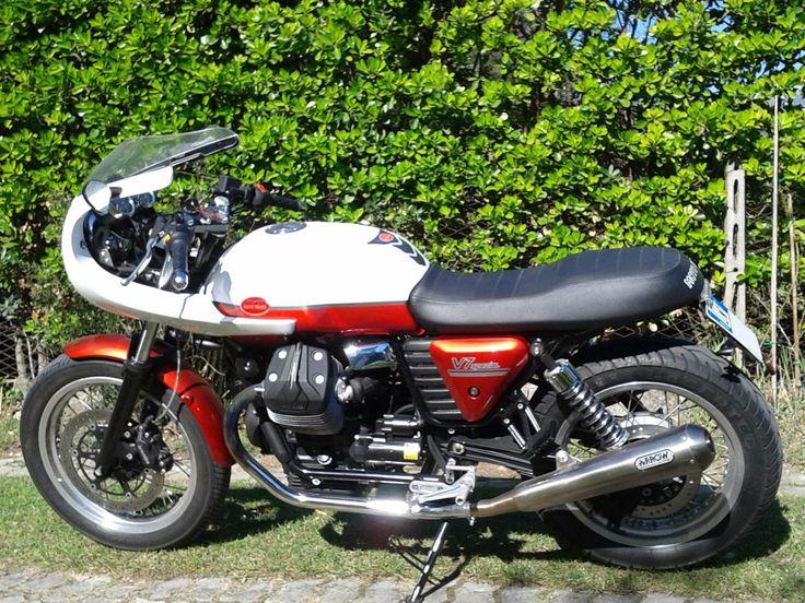 "Moto Guzzi 750 V7 Special (""Bufalo""), 2013. http://www.straightcafe.com"