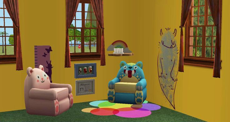 Pin de karen casta on en sims2 kids babies pinterest for Small room karen zoid