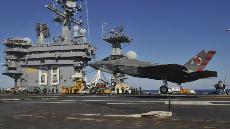 F-35C lands on USS Nimitz. The exact plane I want to fly landing on the exact ship I want to be stationed on.
