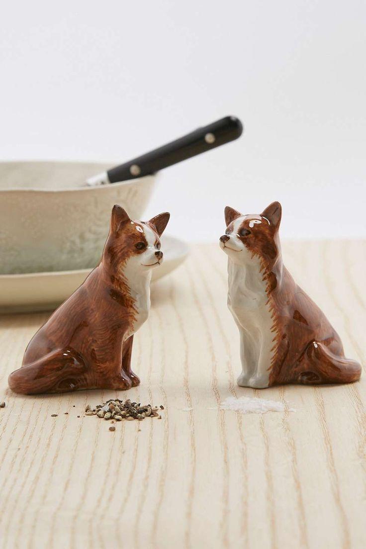 Salz- und Pfefferstreuer im Chihuahua-Design