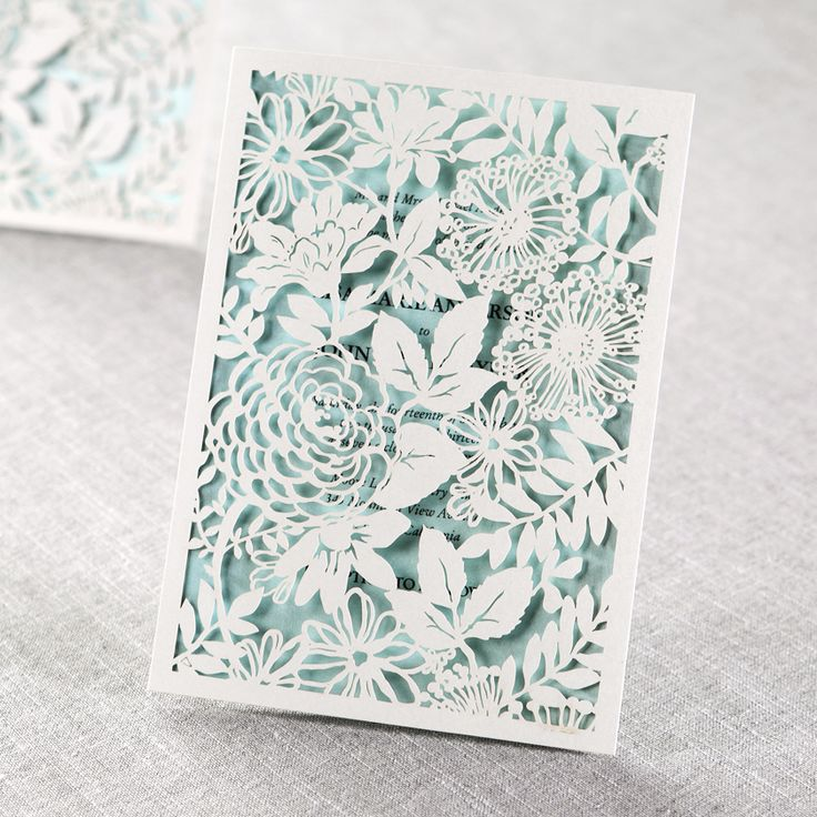 Magical Garden Laser Cut Wedding Invitation By B Invitations Visit Our Website And Find More Beautiful Designs
